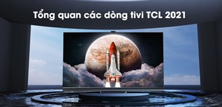 Tổng quan các dòng tivi TCL 2021