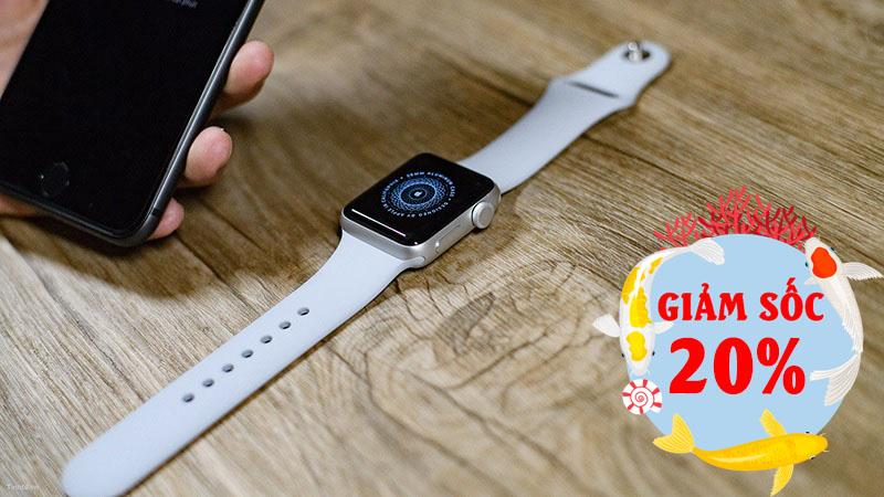 Apple Watch S3 giảm giá sốc đến 20%