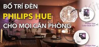Cách sử dụng đèn thông minh Philips Hue để thiết kế phòng giải trí độc đáo bạn nên biết