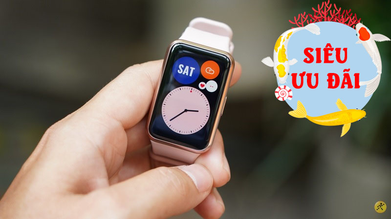Smartwatch nhà Huawei giảm giá hấp dẫn