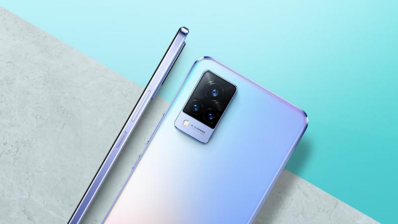 Vivo V21 5G tiếp tục lộ poster xác nhận thông số camera, tùy chọn màu sắc và độ mỏng chỉ 7.29mm
