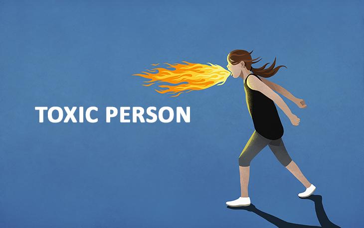 Định nghĩa của toxic và biểu hiện của một con người toxic