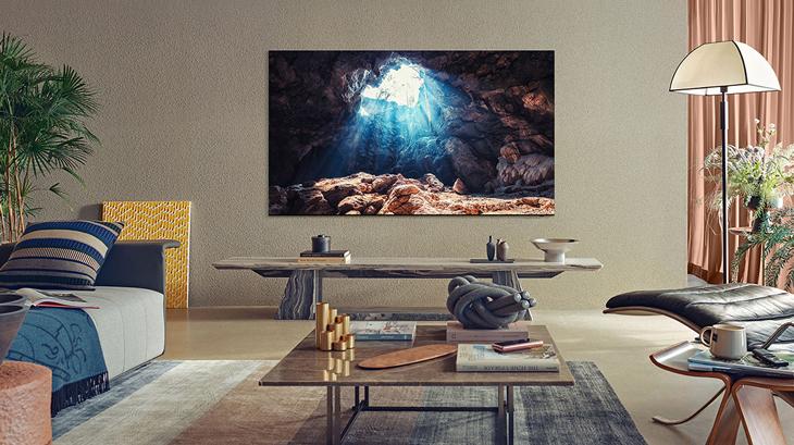 Thiết kế Infinity One hiện đại trên tivi QN800A