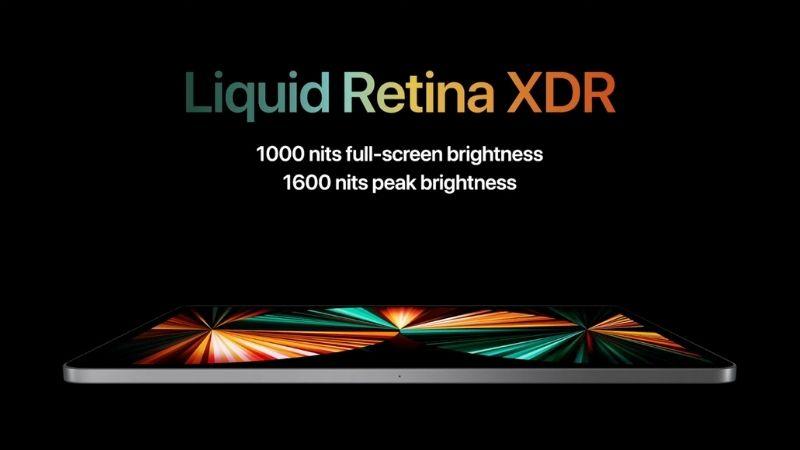 iPad Pro 12.9 inch được trang bị màn hình Liquid Retina XDA mang đến trải nghiệm hình ảnh ấn tượng.