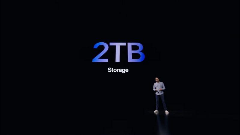iPad Pro 2021 với bộ nhớ trong tốc độ cao dung lượng khủng 2 TB.