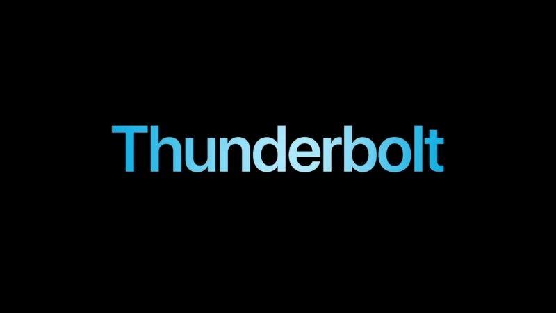 iPad Pro 2021 được hỗ trợ Thunderbolt.