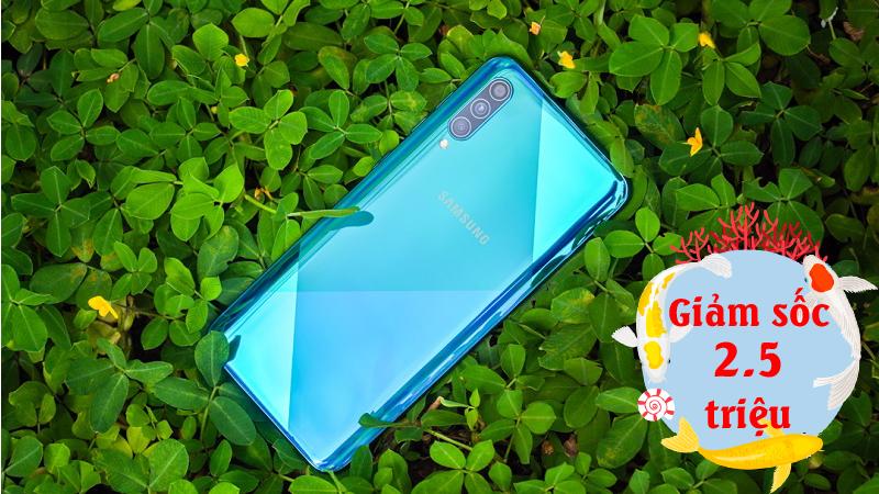 Nếu là Samfan chớ bỏ qua cơ hội ngàn năm có một này, giảm ngay 2.5 triệu khi mua Galaxy A50s chỉ trong tháng 4