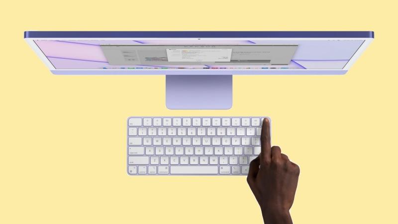 Các phụ kiện mới của Apple iMac 2021: Magic Mouse 7 màu, Magic Trackpad và Magic Keyboard không dây mới tích hợp Touch ID