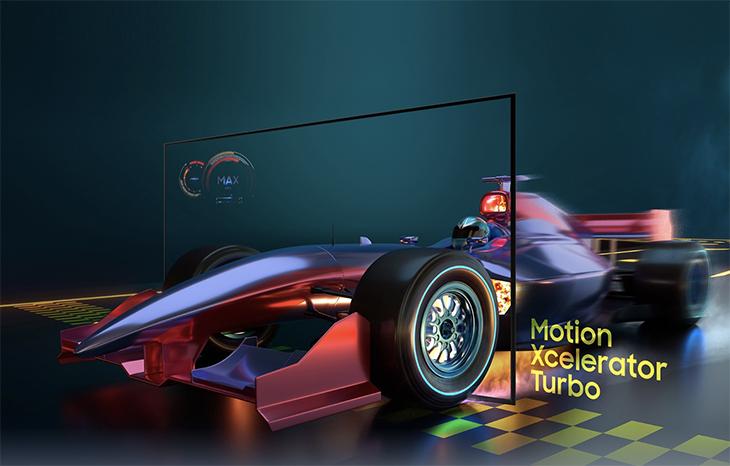Công nghệ Motion Xcelerator Turbo làm mượt chuyển động hình ảnh của mọi tựa game