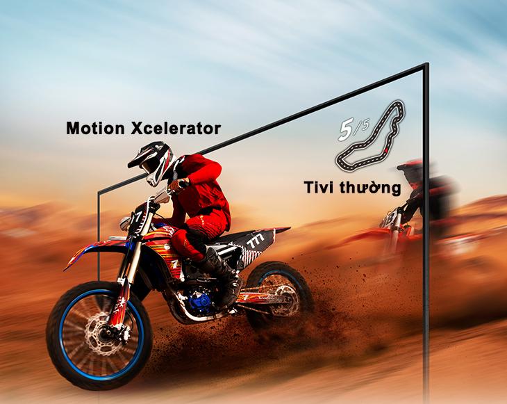 Chuyển động khung hình mượt mà với Motion Xcelerator Turbo