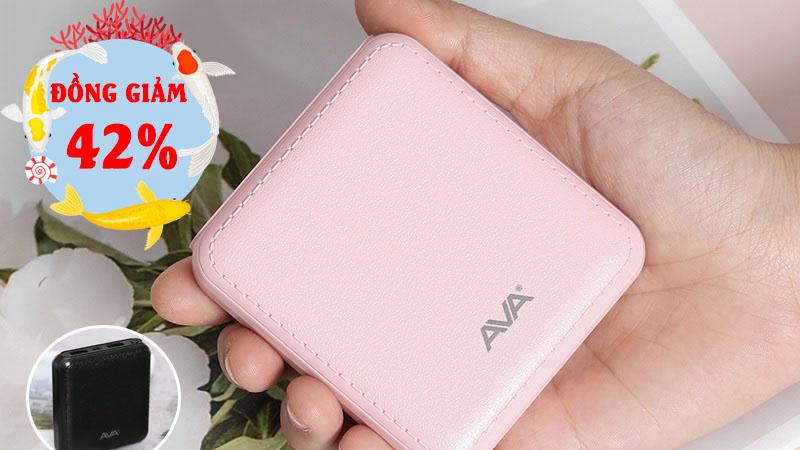 Pin sạc dự phòng AVA đồng giảm đến 42%