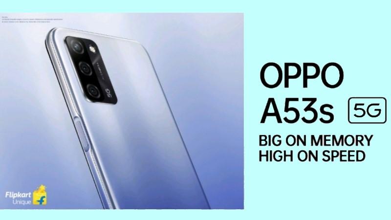 OPPO A53s dự kiến ra mắt với tư cách là smartphone 5G có giá rẻ nhất, cạnh tranh với Realme 8 5G