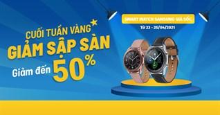 Cuối tuần Vàng, 4 mẫu đồng hồ thông minh Samsung giảm đến 50%, mua ngay!