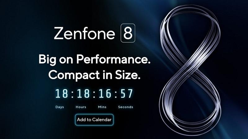 Zenfone 8 ra mắt vào 13/5: 'Lớn về hiệu suất' và 'kích thước nhỏ gọn'