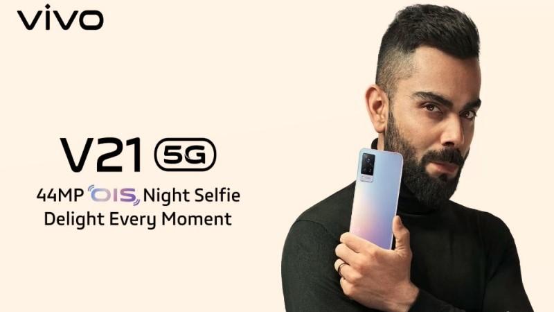 Vivo V21 5G và Vivo V21e được ấn định ngày ra mắt: Dùng chip Dimensity 800U, camera selfie 44MP có OIS, sạc nhanh 33W