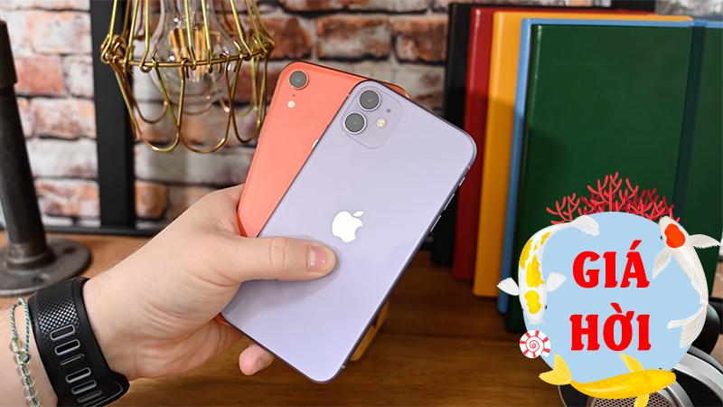 Có gì hấp dẫn hơn iPhone 11 và iPhone Xr giảm sốc, giá từ 12.x triệu