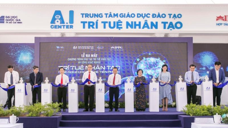 Khai trương Trung tâm giáo dục đào tạo Trí tuệ nhân tạo (AIC)