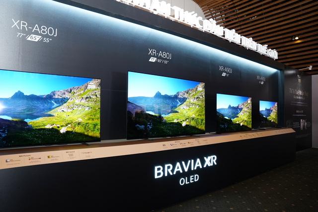 Sony Việt Nam chính thức ra mắt loạt TV BRAVIA XR