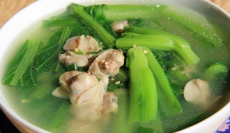 Cách nấu canh ngao cải xanh thanh mát dễ làm