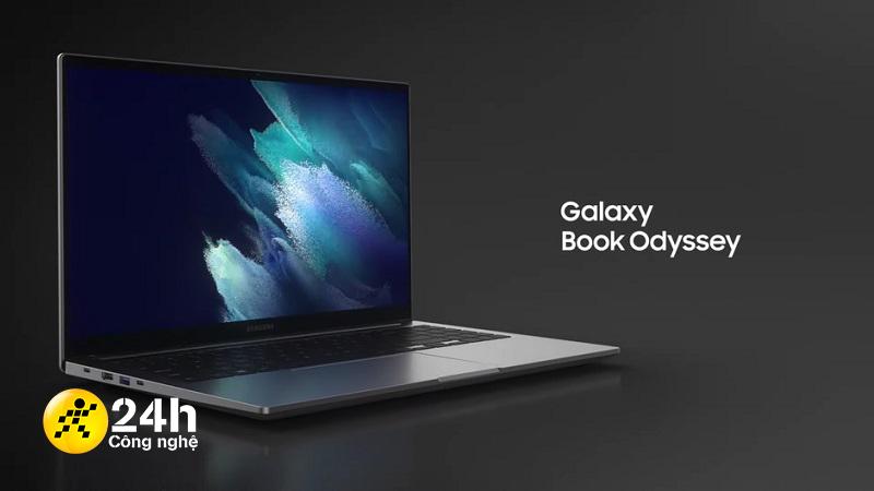 Galaxy Book Odyssey ra mắt: Xứng danh chiếc laptop 'Galaxy mạnh nhất'