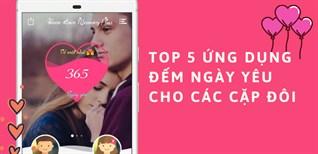 Top 5 ứng dụng đếm ngày yêu dễ dùng và siêu dễ thương cho các cặp đôi