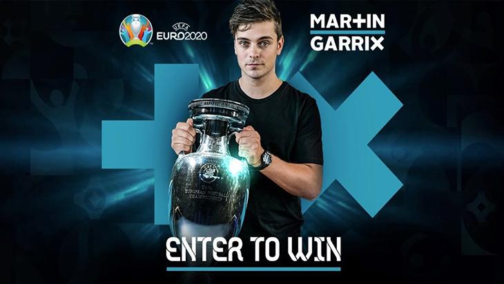 Martin Garrix sẽ sản xuất nhạc cho Euro 2020