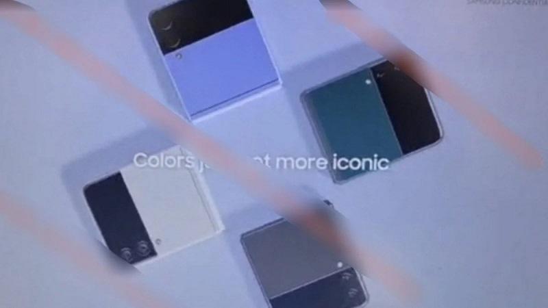 Rò rỉ nhiều hình ảnh xác nhận các chi tiết thiết kế mới trên mẫu smartphone màn hình gập Galaxy Z Flip 3