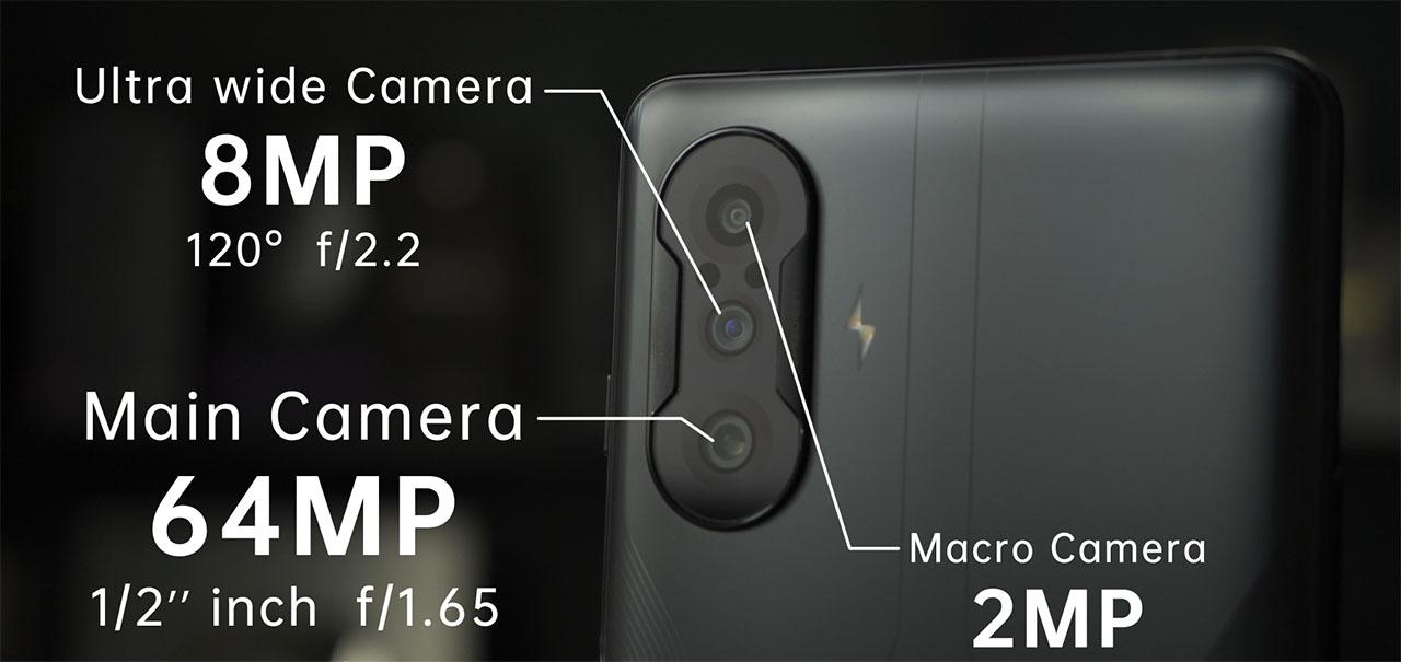 Thông số camera của Xiaomi Redmi K40 Gaming Edition