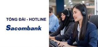 Tổng đài - Hotline ngân hàng Sacombank mới nhất năm 2021