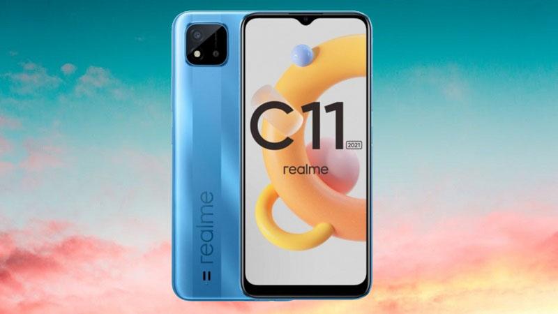 Realme C11 (2021) ra mắt: Màn hình 6.5 inch, pin 5.000mAh, chạy chip hoàn toàn mới, giá bán 2.6 triệu đồng