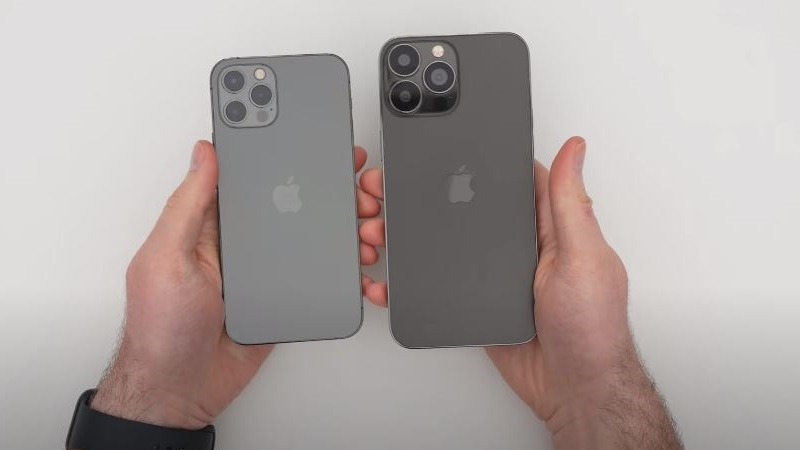 iPhone 13 Pro Max (iPhone 12s Pro Max) bất ngờ xuất hiện: Thiết kế cạnh phẳng, notch tai thỏ nhỏ gọn, camera lớn hơn