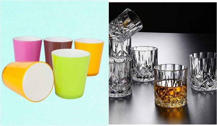 Nên sử dụng ly nhựa hay ly thuỷ tinh?