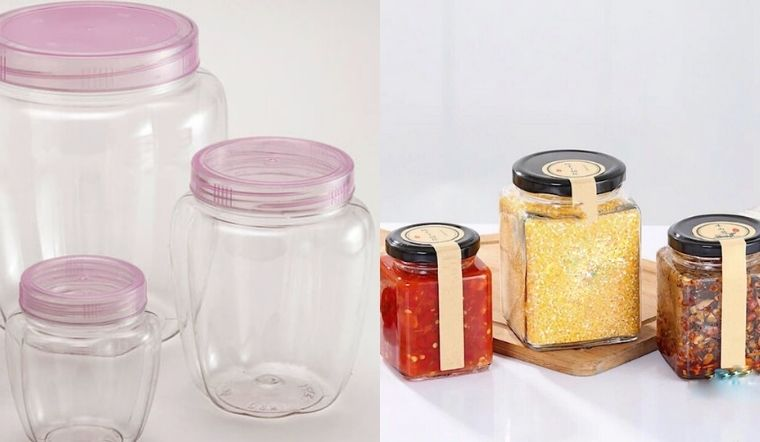 Nên mua và sử dụng hũ thuỷ tinh hay hũ nhựa