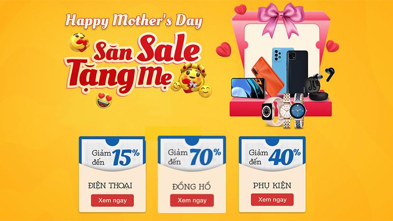 Quá trời deal hời: Ngày của Mẹ nhẹ nhàng hạ giá đến 70% cho hàng loạt sản phẩm, săn liền tay làm quà tặng Mẹ