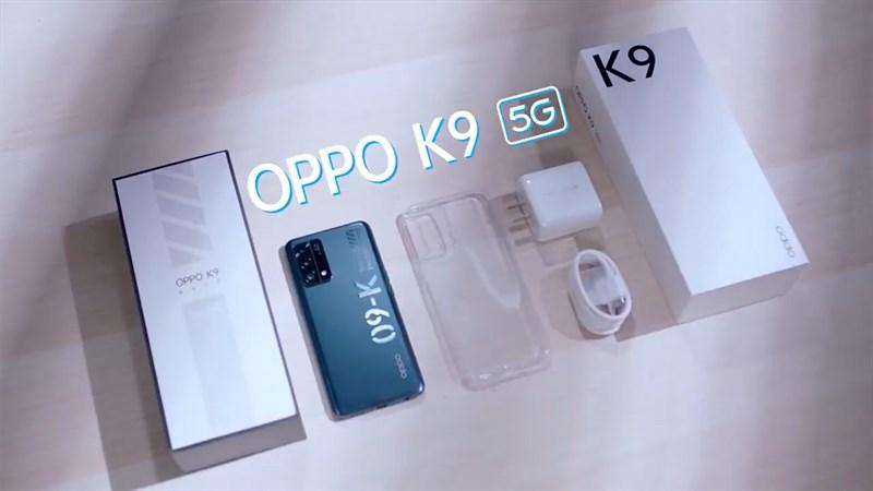 OPPO K9 5G đã chính thức ra mắt người dùng