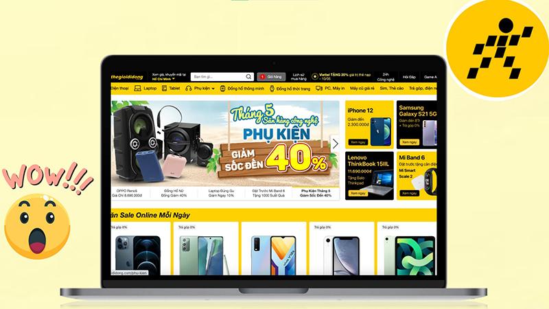 Thegioididong.com được thiết kế lại: Dễ sử dụng, thêm tính năng mới