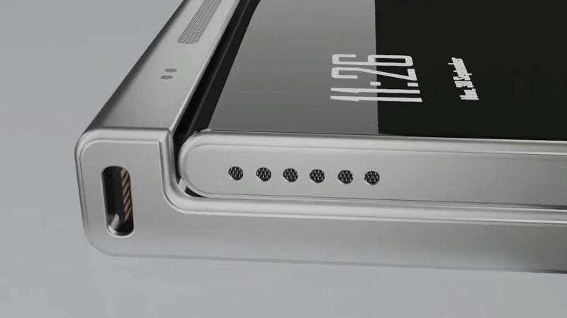 Phần viền trên của Nokia Flip