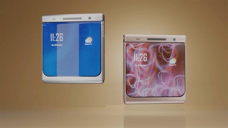 Thiết kế của Nokia Flip trông rất nam tính và mạnh mẽ