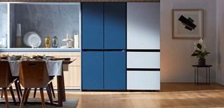 """Samsung ra mắt Tủ lạnh Bespoke mới với các chức năng """"Family Hub"""""""