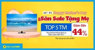 Săn quà tặng mẹ, top 5 tivi giảm SỐC đến 44%, mua ngay kẻo lỡ!