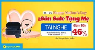 Top 4 tai nghe giảm SỐC đến 46% mừng của Mẹ