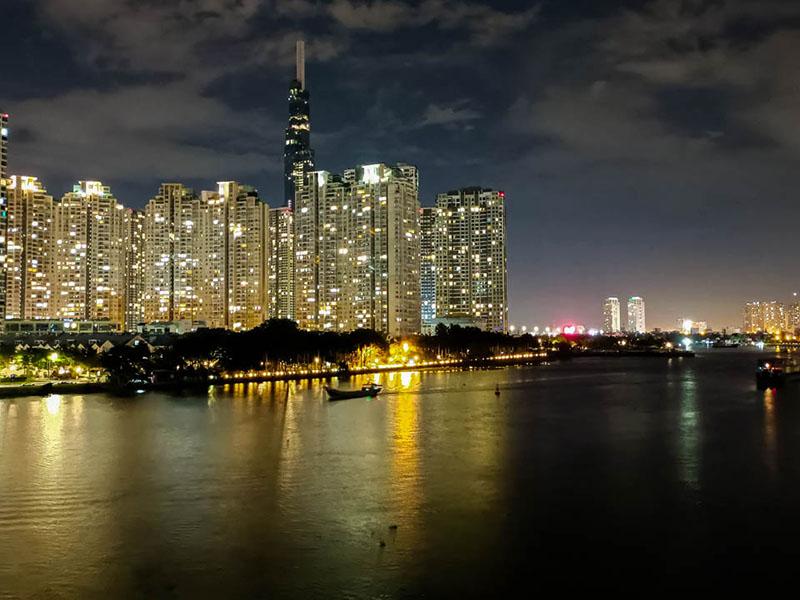 Ảnh chụp đêm bằng Vivo V21 5G