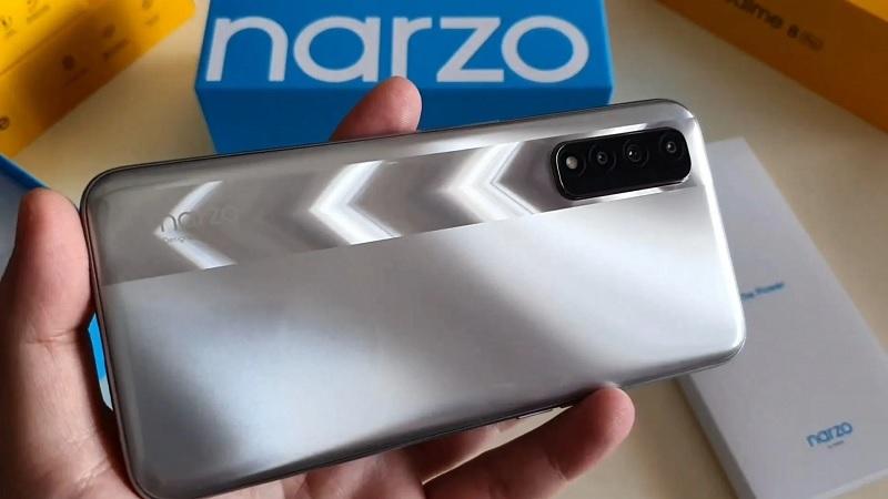 Realme Narzo 30 lộ sạch thiết kế và thông số kỹ thuật