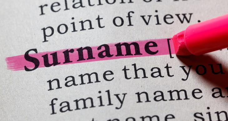 Surname là gì?