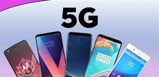 134 triệu chiếc điện thoại thông minh 5G được bán trên toàn cầu trong quý 1/2021
