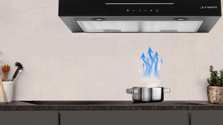 Nguyên lý hoạt động máy hút mùi âm tủ