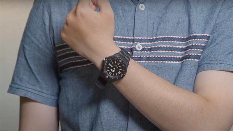 Đồng hồ Casio đồng giảm khi mua online