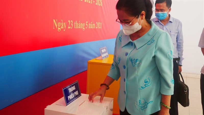 Bầu cử online TP HCM