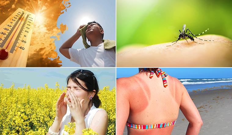 6 mối nguy dành cho sức khỏe vào mùa hè bạn nên biết
