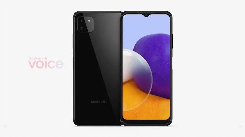 Render Samsung Galaxy A22 5G